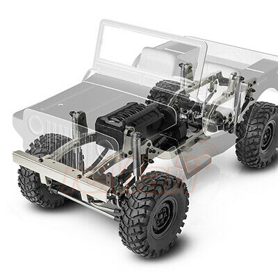 Gmade 1:10 GS01 Sawback Full Time 4WD EP Crawler RC Cars Kit Off Road #GM52000