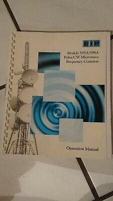 EIP 595A / 598A Microwave Counter Op Manual