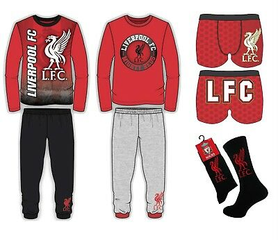 New Liverpool FC Kids Boys Pyjamas / Boxer shorts / Socks Official Club Products