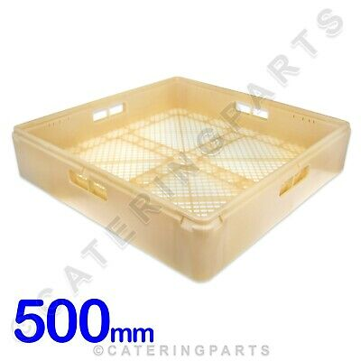 CAMBRO 500mm x 500mm x 100mm HIGH QUALITY DISH-WASHER RACK FOR CUTLERY GREY