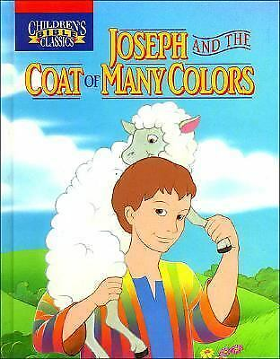NEW!! JOSEPH AND the Coat of Many Colors - by Mary Josephs - Board ...