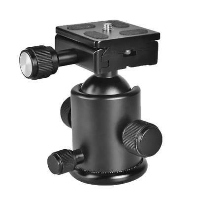 Adjustable Ball Head with Quick Release Plate for DSLR Camera Monopod Tripod