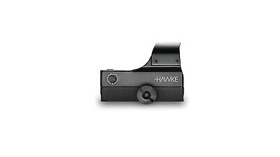 HAWKE 12134 Reflex-Visier Leuchtpunktvisier REFLEX SIGHT WIDE VIEW für WEAVER