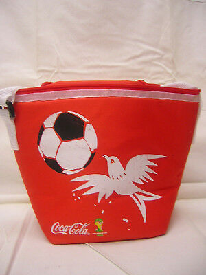 2014 Fifa World Cup Brazil Coca-Cola Cooler With Soccer Ball New