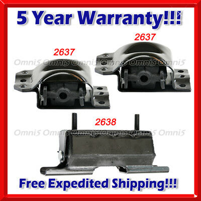M379 Fits 1988-2000 Chevy/ GMC K2500 5.0 5.7 6.2 6.5 7.4 4WD Motor & Trans Mount
