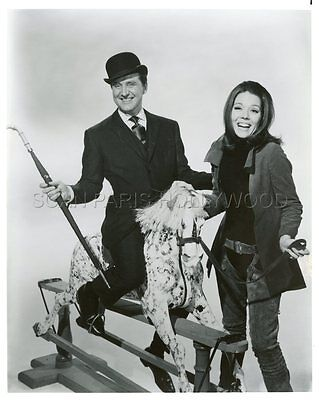 PATRICK MACNEE DIANA RIGG THE AVENGERS 60s VINTAGE PHOTO R80 #3