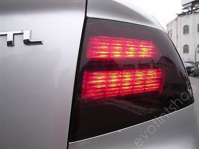 04-08 Tl Smoke Tail Light Tint Cover Black Out Overlay