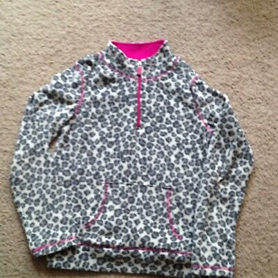 Girls Size 10-12 Soft Pull Over Winter Jacket