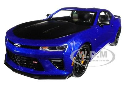 2017 CHEVROLET CAMARO SS 1LE 50th ANNIVERSARY BLUE LTD 1/18 AUTOWORLD AW241