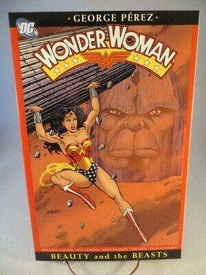 WONDER WOMAN BEAUTY AND THE BEASTS TP TPB $19.95 SRP George Perez NEW 2005