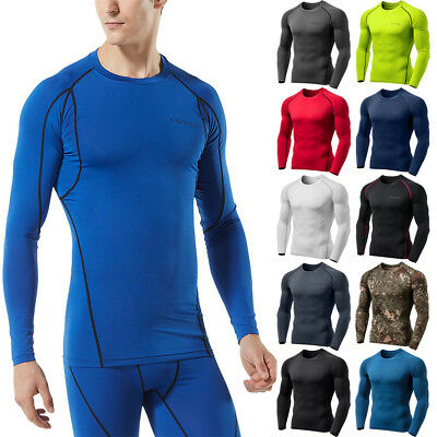 Tesla MUD01 Cool Dry Long Sleeve Compression Shirt