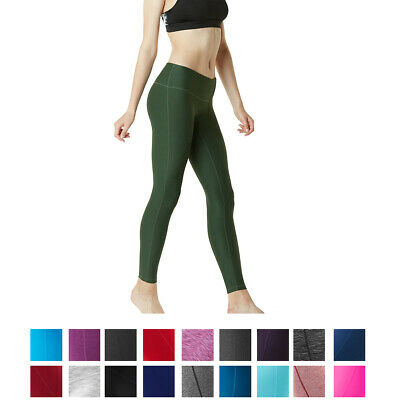 Tesla FYP41 Women's Mid-Waist Ultra-Stretch Yoga Pants