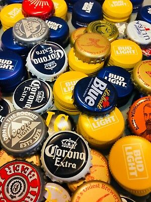 250 Mixed Beer Bottle Caps Great Colors Random And Awesome Mix Clean
