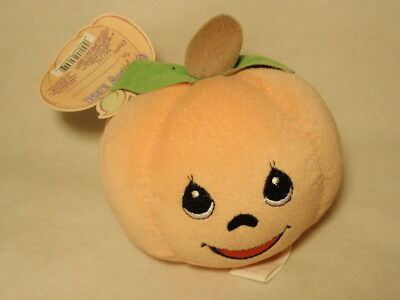 Enesco Precious Moments Tender Tails Plushkins Pumpkin Doll