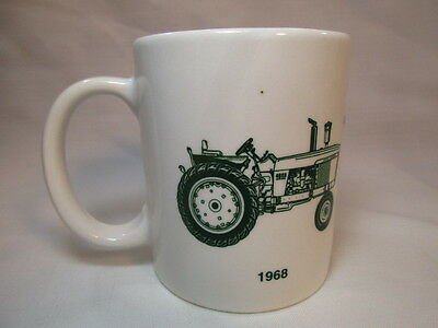 Vintage GREENE IMPLEMENT INC Coffee Mug Cup 25th Anniversary Tractor WI 1968 93