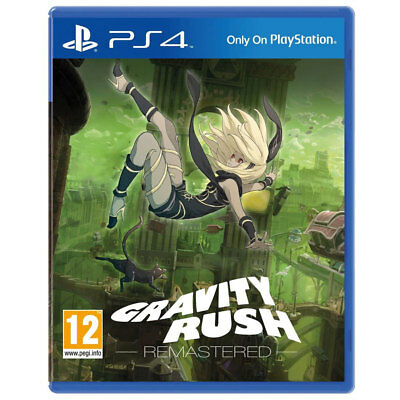 Gravity Rush Playstation Sony Ps4 New Remastered PS 4 Game Sealed