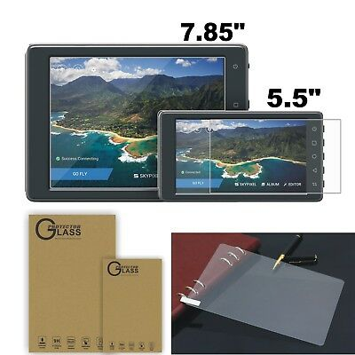 """2x Explosion-proof Screen Protector Film For DJI CrystalSky Monitor 5.5"""" & 7.85"""""""