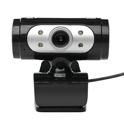 High Definition 720p Pixel 4 LED HD Webcams Web Cam Camera With Night Lights
