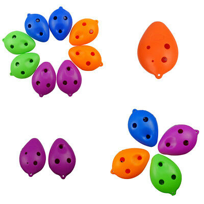 6 Hole treble C ABS Plastic small Ocarina for Beginner HP