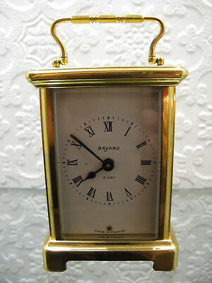 Solid  Brass Carriage Clock/Timepiece