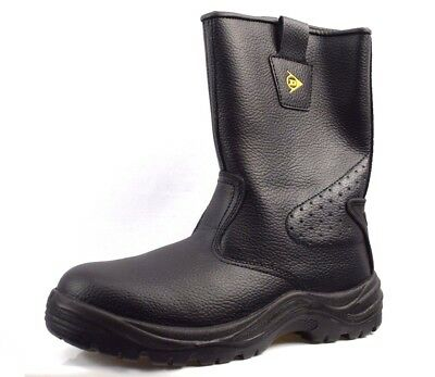 6f28eff303e DUNLOP SAFETY RIGGER Men's Safety Boots Brand New Size Uk 8 (Cr14)