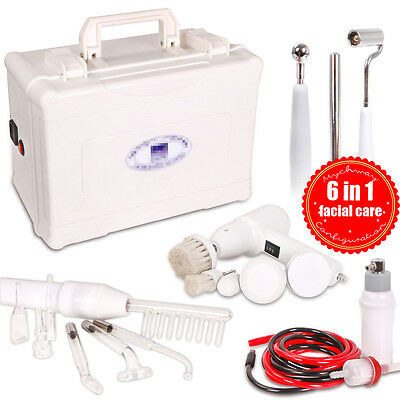6in1 Galvanic Spray Cleaner High Frequency Acne Blackheads Removal Machine