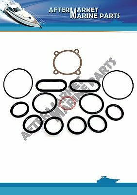 Volvo Penta oil cooler seal kit for 30 31 40 41 42 43 44 300 inc 859086