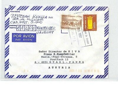 CA120 1997 Uruguay Montevideo *DEP DES MISIONES* Air Cover MISSIONARY VEHICLES