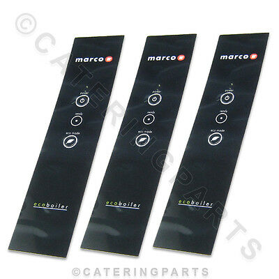 GENUINE MARCO FRONT FASCIA PANELS PACK OF 3 x 1900652 10L HOT WATER ECO-BOILER