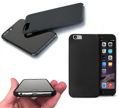 Cover Black Rigida In Policarbonato Soft Touch Per Apple Iphone 6/6S - 7