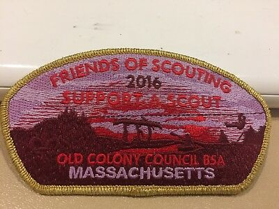 Boy Scouts -  2016 Friends of Scouting csp - Old Colony Council, Massachusetts