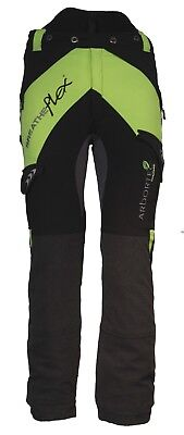 Arbortec Breatheflex Class 2 Type A Forestry Chainsaw Protective Trousers Lime
