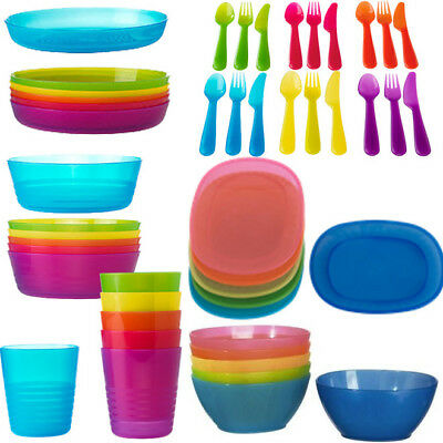 NEW IKEA KALAS Plate / Bowl / Mug / Cup / Cutlery Set Kids Children Party