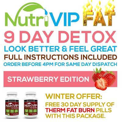 9 Day Strawberry Weight Loss Detox - [ Winter Edition ] - [ 60 Free Diet Pills ]