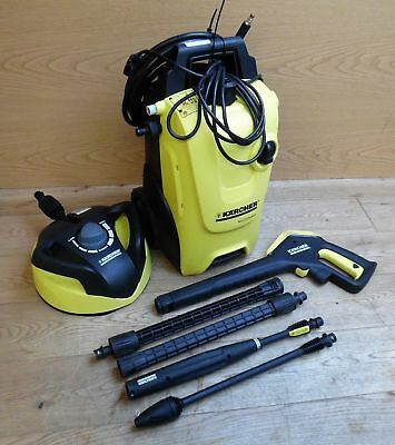 Karcher K4 Compact Home Pressure Washer Power Tool 1800W 130 Bar with T350 Att.