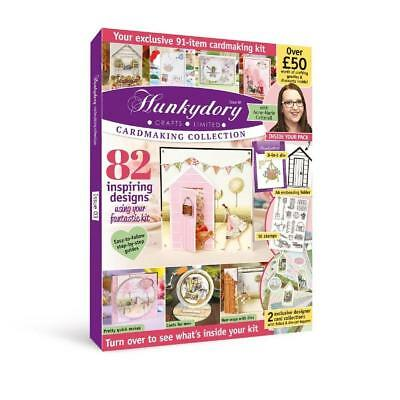 Hunkydory Design Collection Box Magazine Issue 3 & free gifts worth over £50!