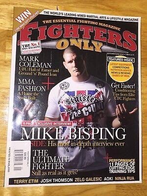 FIGHTERS ONLY Magazine, Mike Bisping Interview, September 2008, Issue 41, GrUC