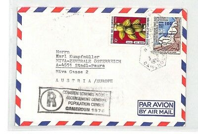 CA246 1976 Cameroon EAA EXPRESS Airmail Cover MISSIONARY VEHICLES PTS