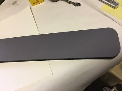"New Gray Computer Keyboard Wrist Rest Support Comfort Made in USA, 171/2"" x 3.25"