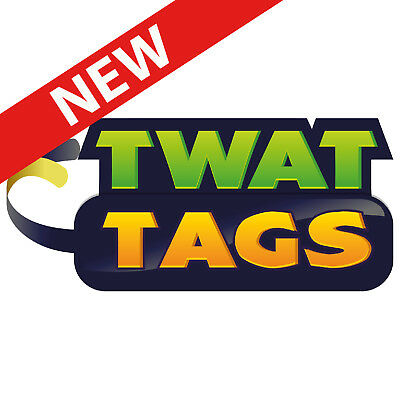 TwatTags Stickers Party Pack funny Secret Santa Novelty gift stocking fillers