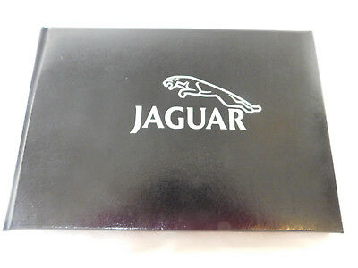 Jaguar Dedication Black Leather Book Excellent Condition