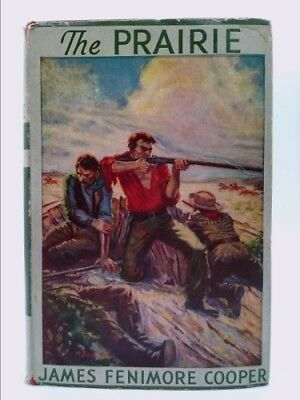 The Prairie By James Fenimore Cooper Hc 1890 A Leatherstocking