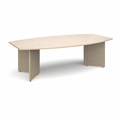 Maple Barrel Shaped Boardroom Meeting Conference Table