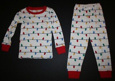 NEW Gymboree Outlet Boy Girl Holiday Pajamas PJs 4 5 6 7 8 10 12 Holiday Lights