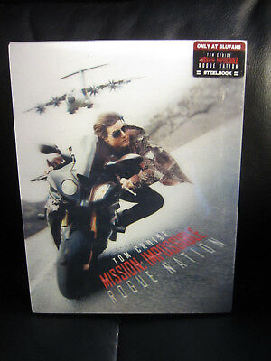 Mission: Impossible 5 Rogue Nation Blufans OAB Lenticular Slip Blu-Ray Steelbook