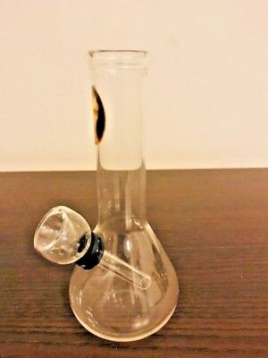 Hookah Water Pipe Bong Glass Mini 5.5  inch  clear