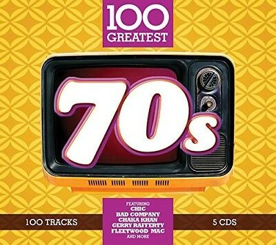 Various Artists - 100 Greatest 70s / Various [New CD] UK - Import