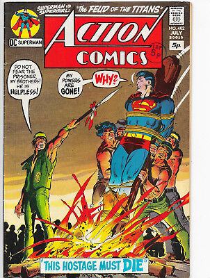 Action Comics #402 Superman Bronze Age DC Comics VF-