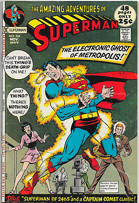 Superman 244 Bronze Age DC Comics Curt Swan F