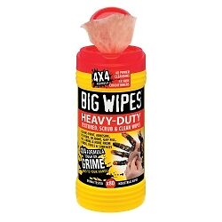 Big Wipes 6002 0046 Big Wipes Heavy Duty Dual Side Cleaning Wipes